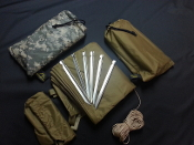 Multi Use Survival Tarp Kit (MUST)      starting at: