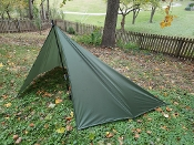 Bushcraft Special!! 5 1/2' x 9' Camo Green OVERSIZED MUST KIt